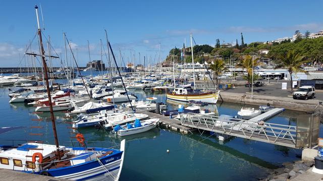 Le port de Funchal (Capitale)