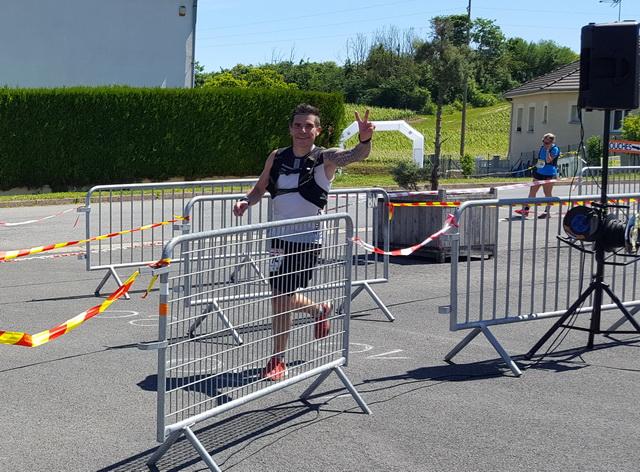 30km arrivée de Sébastien