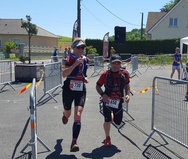 30km : sprint pour Marie-Christine et José
