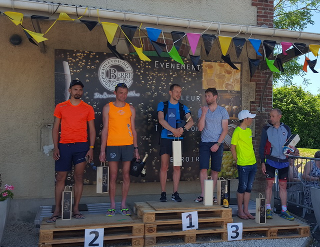 podium 30 km : Hervé : 1er M2H
