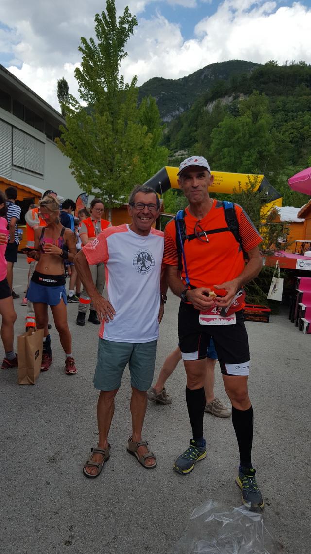 Avec Stéphane Peccavet en prépa Swiss peak