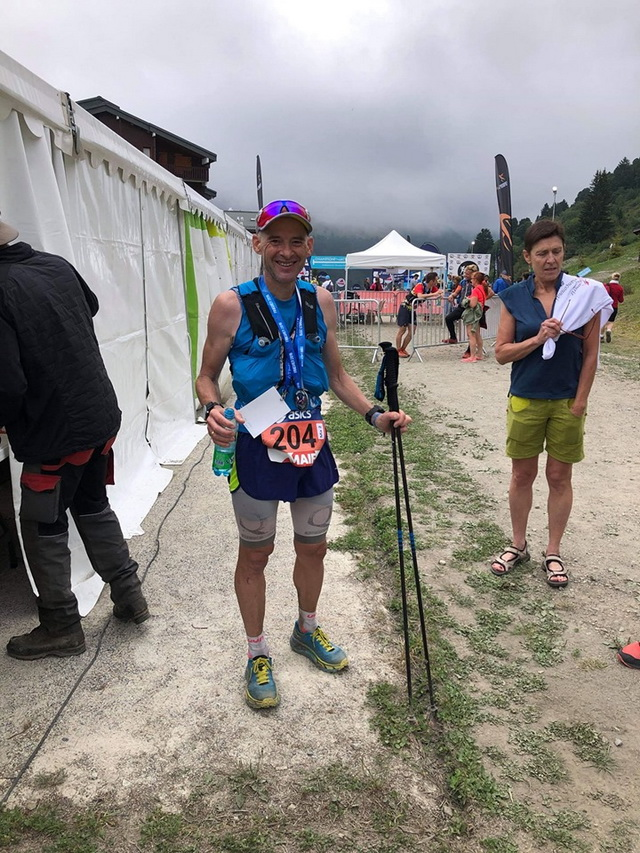 Hervé Champion de France de trail long master 2