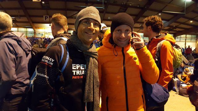 Olivier Guillochain et Loic Richy prêts pour le relais
